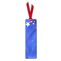 The Substance Blue Fabric Stars Small Book Marks
