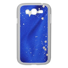The Substance Blue Fabric Stars Samsung Galaxy Grand Duos I9082 Case (white)