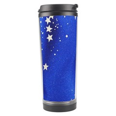The Substance Blue Fabric Stars Travel Tumbler