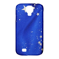 The Substance Blue Fabric Stars Samsung Galaxy S4 Classic Hardshell Case (pc+silicone)