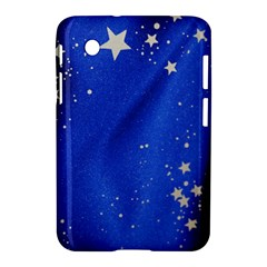The Substance Blue Fabric Stars Samsung Galaxy Tab 2 (7 ) P3100 Hardshell Case