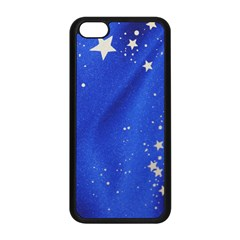 The Substance Blue Fabric Stars Apple Iphone 5c Seamless Case (black)