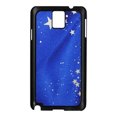The Substance Blue Fabric Stars Samsung Galaxy Note 3 N9005 Case (black)