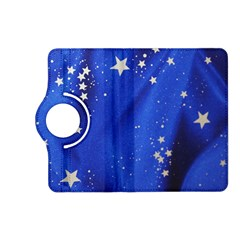 The Substance Blue Fabric Stars Kindle Fire Hd (2013) Flip 360 Case