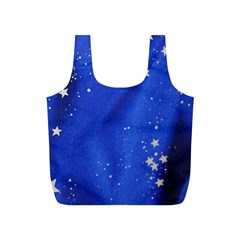The Substance Blue Fabric Stars Full Print Recycle Bags (s)