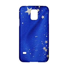 The Substance Blue Fabric Stars Samsung Galaxy S5 Hardshell Case