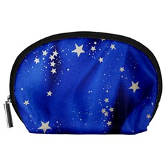 The Substance Blue Fabric Stars Accessory Pouches (large)