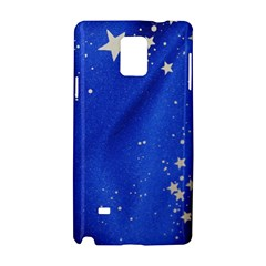 The Substance Blue Fabric Stars Samsung Galaxy Note 4 Hardshell Case