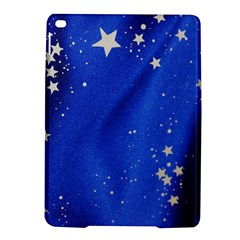 The Substance Blue Fabric Stars Ipad Air 2 Hardshell Cases