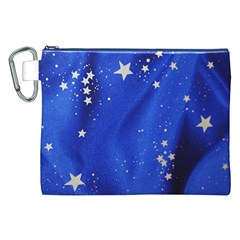 The Substance Blue Fabric Stars Canvas Cosmetic Bag (xxl)