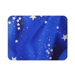The Substance Blue Fabric Stars Double Sided Flano Blanket (mini)