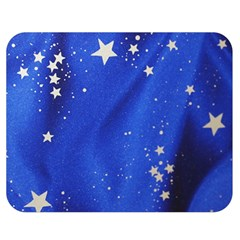 The Substance Blue Fabric Stars Double Sided Flano Blanket (medium)