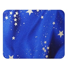 The Substance Blue Fabric Stars Double Sided Flano Blanket (large)