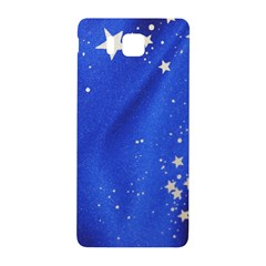 The Substance Blue Fabric Stars Samsung Galaxy Alpha Hardshell Back Case