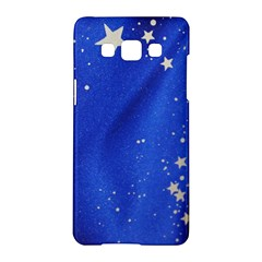 The Substance Blue Fabric Stars Samsung Galaxy A5 Hardshell Case