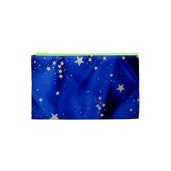 The Substance Blue Fabric Stars Cosmetic Bag (xs)