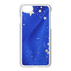 The Substance Blue Fabric Stars Apple Iphone 7 Seamless Case (white)