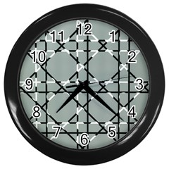 Texture Backgrounds Pictures Detail Wall Clocks (black)