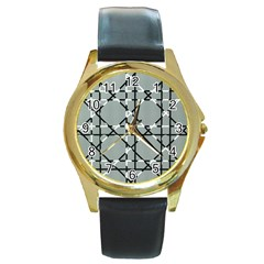 Texture Backgrounds Pictures Detail Round Gold Metal Watch