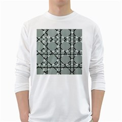 Texture Backgrounds Pictures Detail White Long Sleeve T Shirts