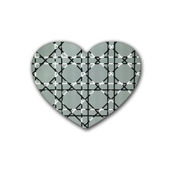 Texture Backgrounds Pictures Detail Rubber Coaster (heart)