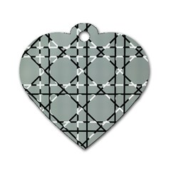 Texture Backgrounds Pictures Detail Dog Tag Heart (two Sides)
