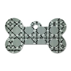 Texture Backgrounds Pictures Detail Dog Tag Bone (One Side)
