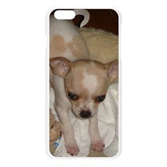 Chihuahua Puppy Apple Seamless iPhone 6 Plus/6S Plus Case (Transparent)