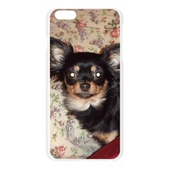 Long Haired Chihuahua In Bed Apple Seamless iPhone 6 Plus/6S Plus Case (Transparent)