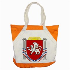 Coat Of Arms Of Crimea Accent Tote Bag