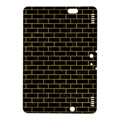 Brick1 Black Marble & Yellow Marble Kindle Fire Hdx 8 9  Hardshell Case