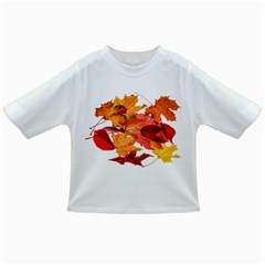 Autumn Leaves Leaf Transparent Infant/toddler T Shirts