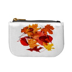 Autumn Leaves Leaf Transparent Mini Coin Purses