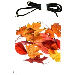 Autumn Leaves Leaf Transparent Shoulder Sling Bags