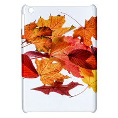 Autumn Leaves Leaf Transparent Apple Ipad Mini Hardshell Case