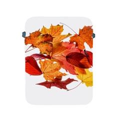 Autumn Leaves Leaf Transparent Apple Ipad 2/3/4 Protective Soft Cases