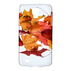 Autumn Leaves Leaf Transparent Galaxy S4 Active