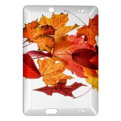 Autumn Leaves Leaf Transparent Amazon Kindle Fire Hd (2013) Hardshell Case
