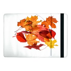 Autumn Leaves Leaf Transparent Samsung Galaxy Tab Pro 10 1  Flip Case