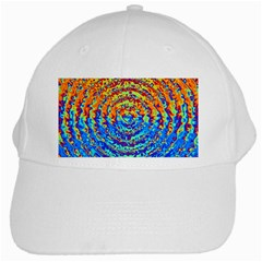 Background Color Game Pattern White Cap