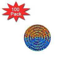 Background Color Game Pattern 1  Mini Buttons (100 Pack)