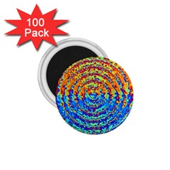 Background Color Game Pattern 1 75  Magnets (100 Pack)