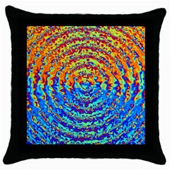 Background Color Game Pattern Throw Pillow Case (black)