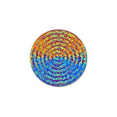 Background Color Game Pattern Golf Ball Marker
