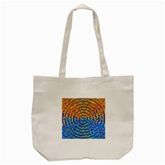 Background Color Game Pattern Tote Bag (Cream)