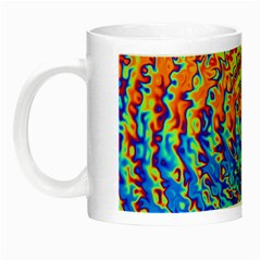 Background Color Game Pattern Night Luminous Mugs