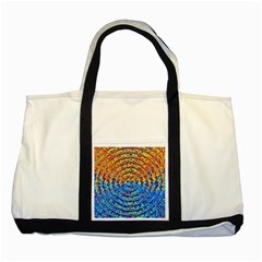 Background Color Game Pattern Two Tone Tote Bag