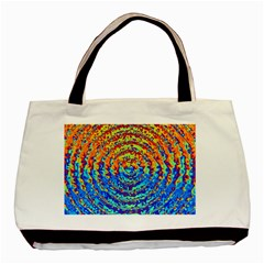 Background Color Game Pattern Basic Tote Bag (two Sides)