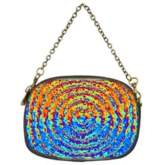 Background Color Game Pattern Chain Purses (one Side)