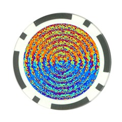 Background Color Game Pattern Poker Chip Card Guard (10 Pack)